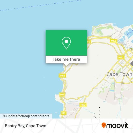 Bantry Bay map