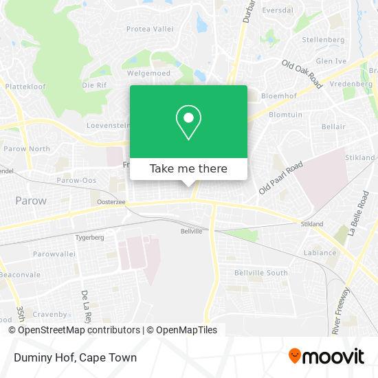 Duminy Hof map