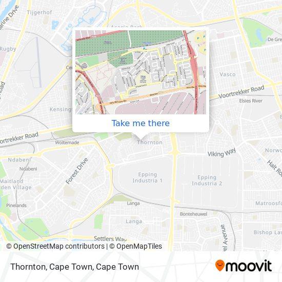 Thornton, Cape Town map