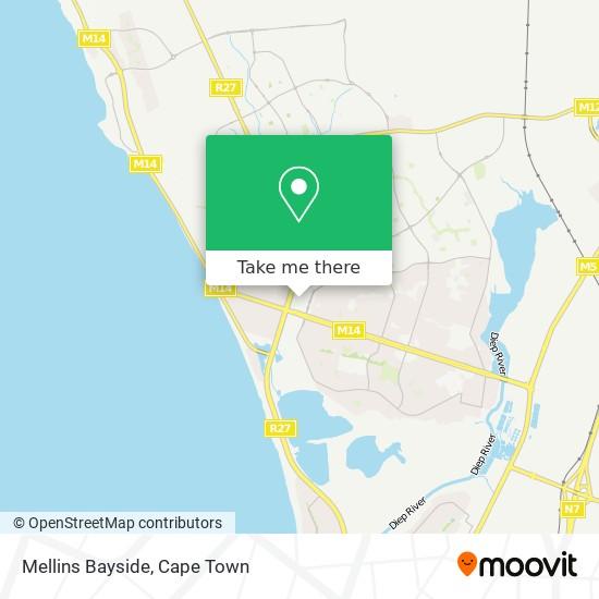 Mellins Bayside map
