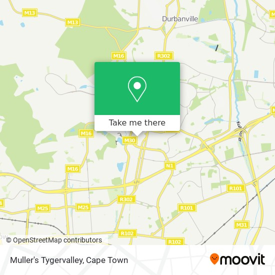 Muller's Tygervalley map