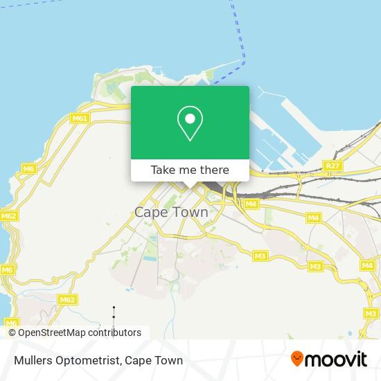 Mullers Optometrist map
