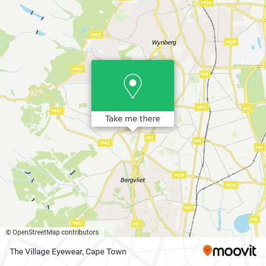 The Village Eyewear map