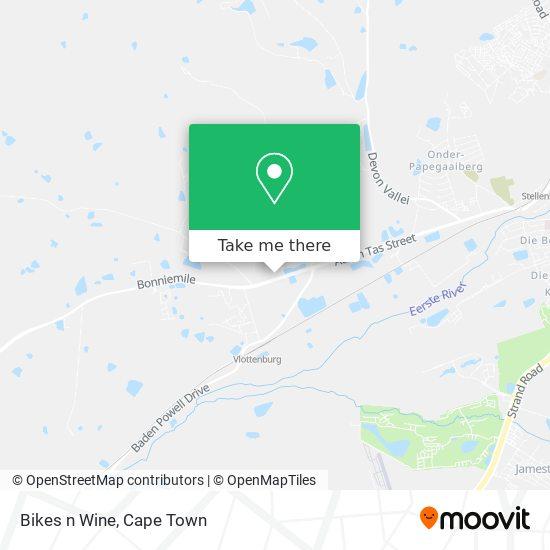 Bikes n Wine map