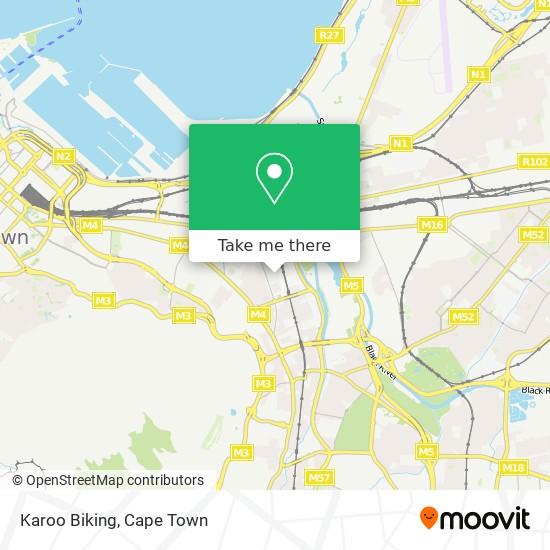 Karoo Biking map