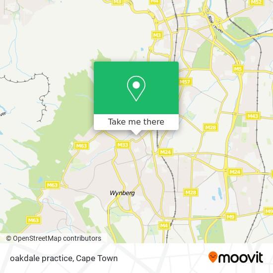 oakdale practice map