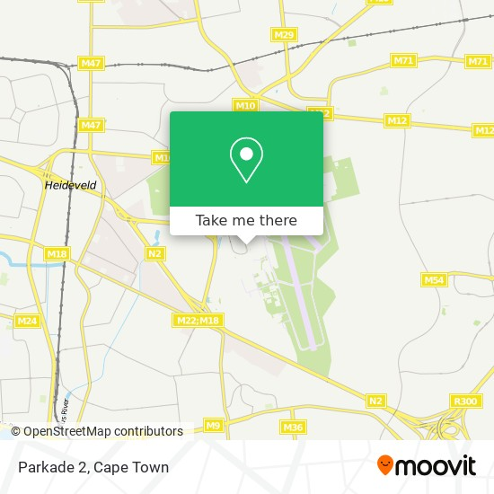 Parkade 2 map