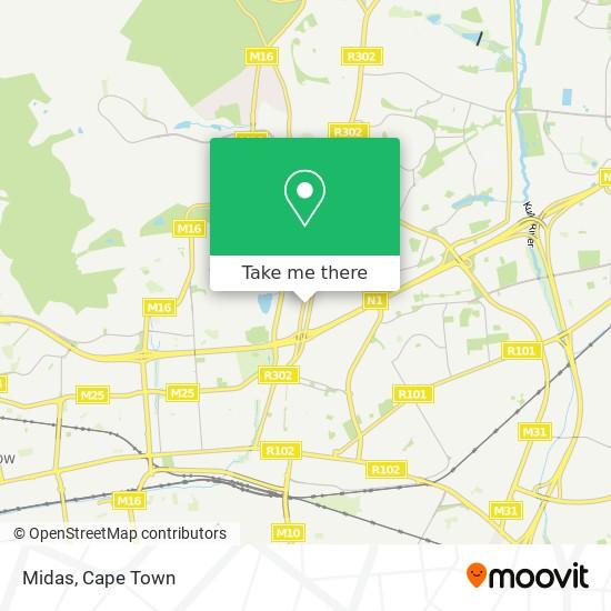 Midas map