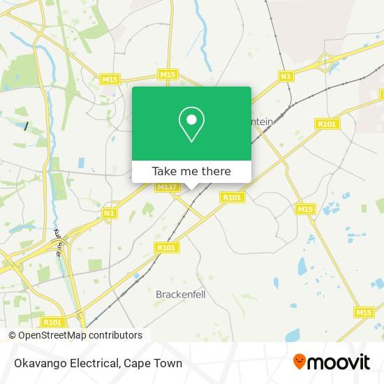 Okavango Electrical map