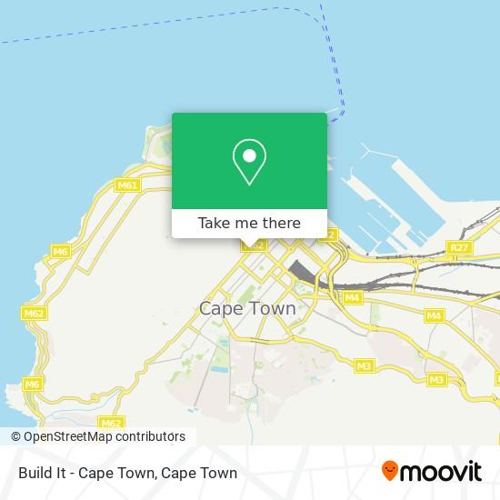 Build It - Cape Town map