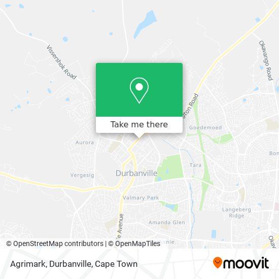 Agrimark, Durbanville map
