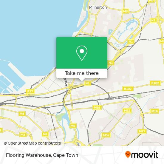 Flooring Warehouse map