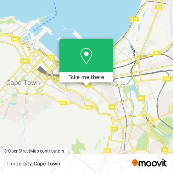 Timbercity map