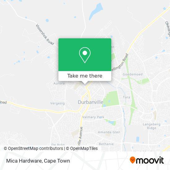 Mica Hardware map