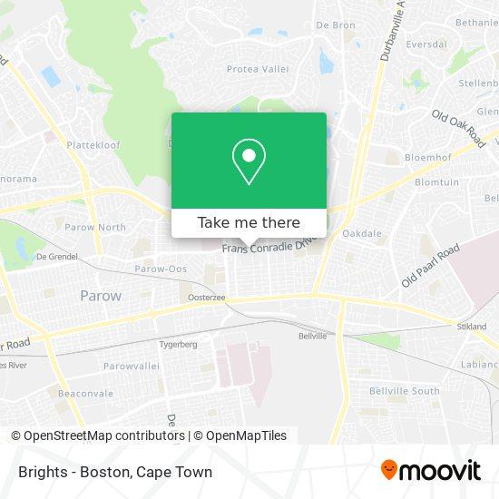 Brights - Boston map