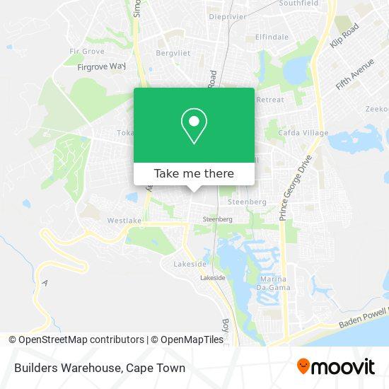 Builders Warehouse map