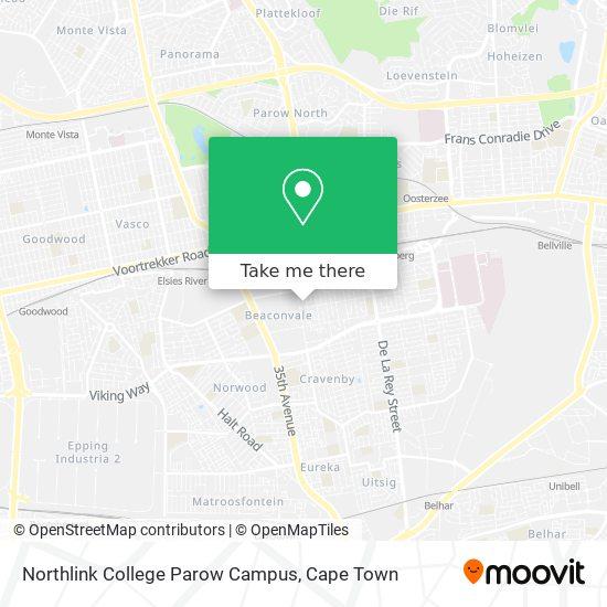 Northlink College Parow Campus map