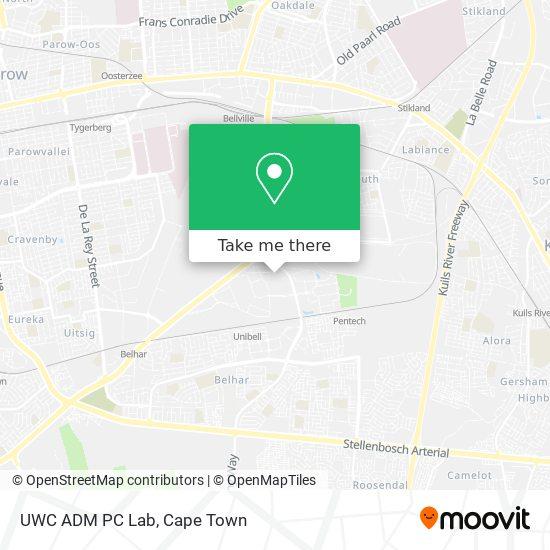 UWC ADM PC Lab map