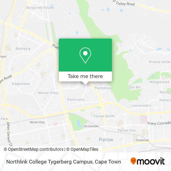 Northlink College Tygerberg Campus map