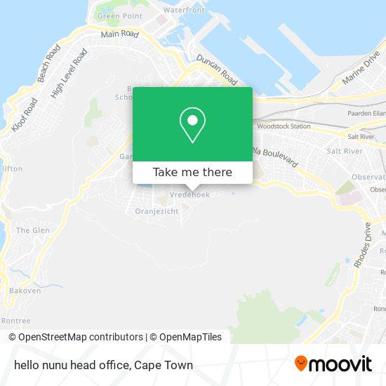 hello nunu head office map
