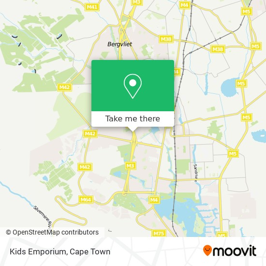 Kids Emporium map