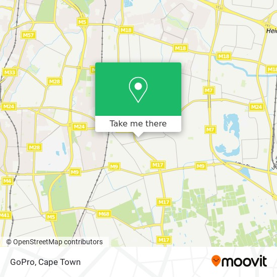 GoPro map