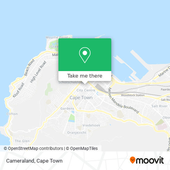 Cameraland map