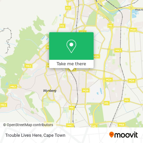 Trouble Lives Here map