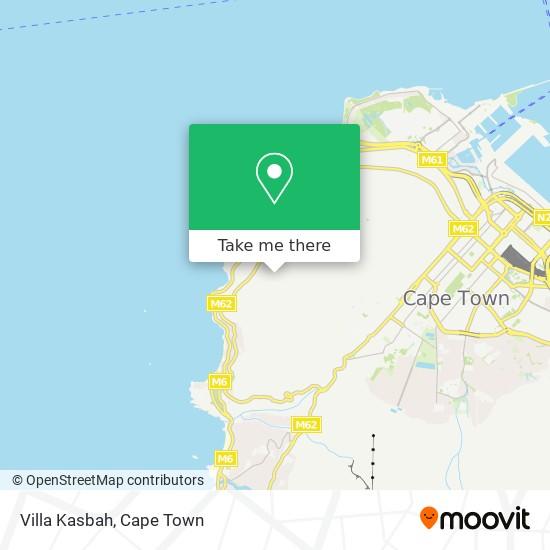 Villa Kasbah map