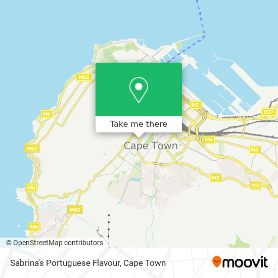 Sabrina's Portuguese Flavour map