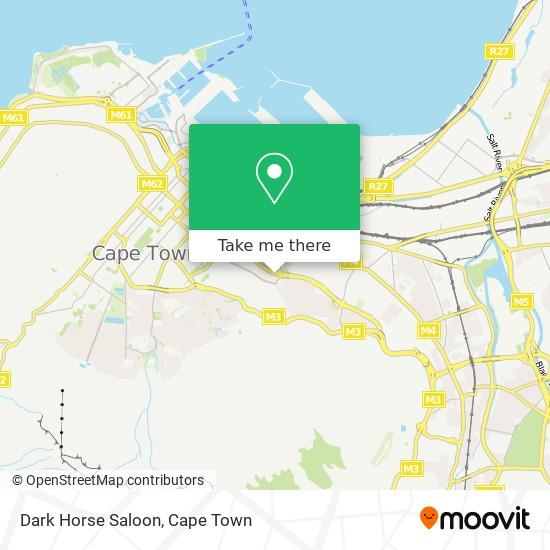 Dark Horse Saloon map