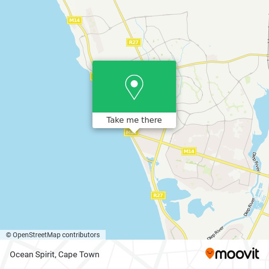 Ocean Spirit map