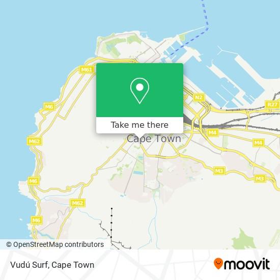 Vudú Surf map