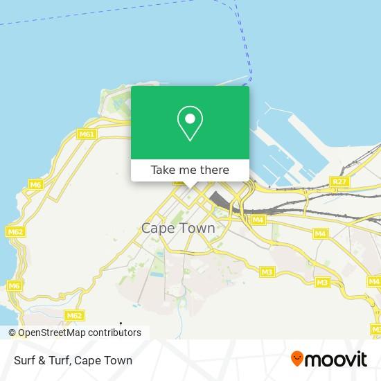 Surf  & Turf map