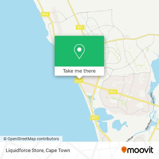 Liquidforce Store map