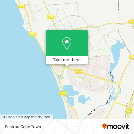 Suntrax map