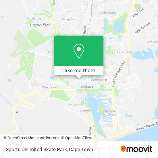 Sports Unlimited Skate Park map