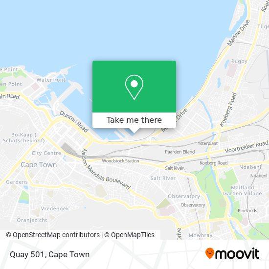 Quay 501 map