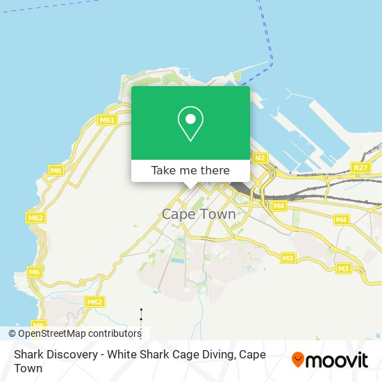 Shark Discovery - White Shark Cage Diving map