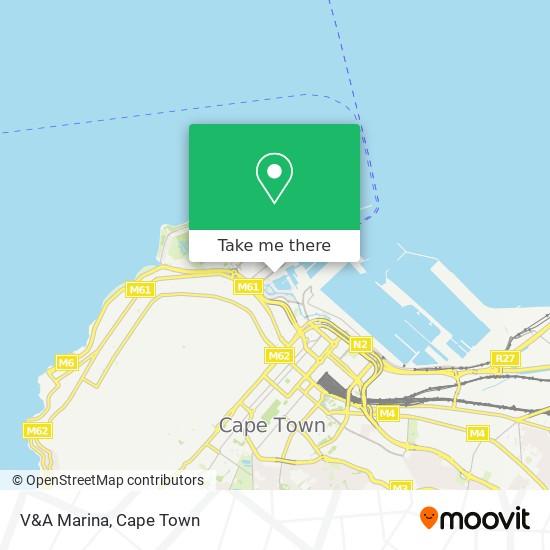 V&A Marina map