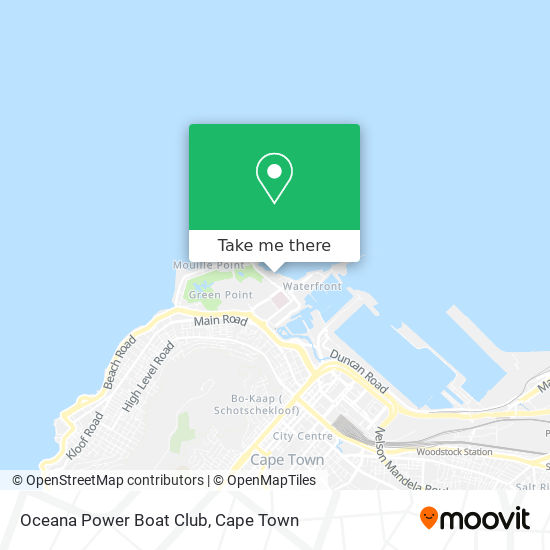 Oceana Power Boat Club map