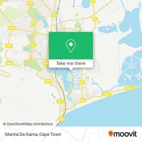 Marina Da Gama map