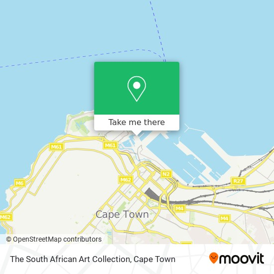 The South African Art Collection map