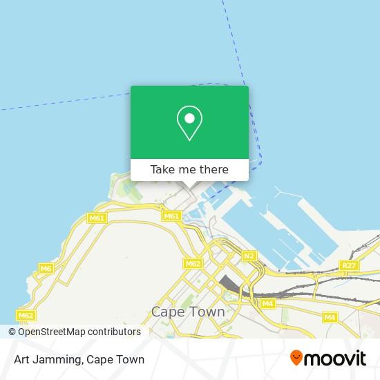 Art Jamming map