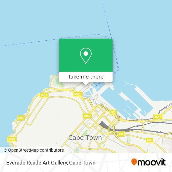 Everade Reade Art Gallery map