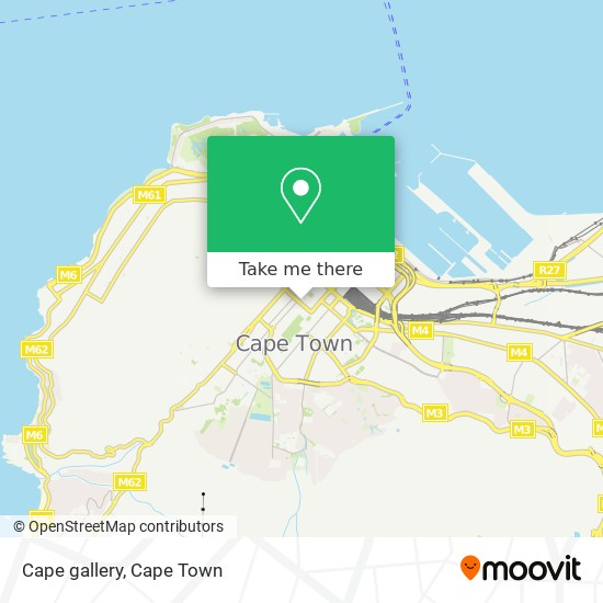 Cape gallery map