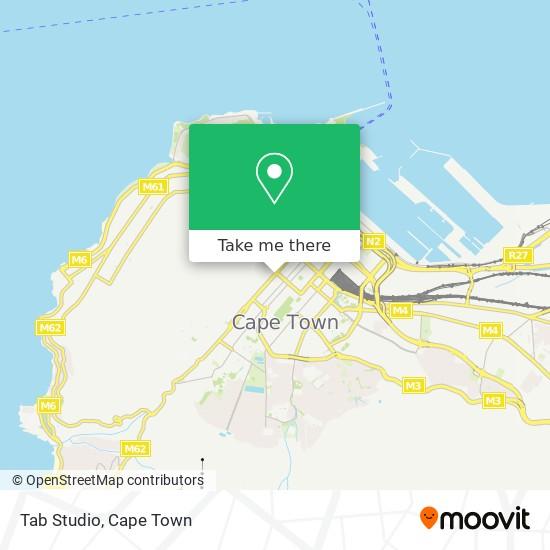 Tab Studio map