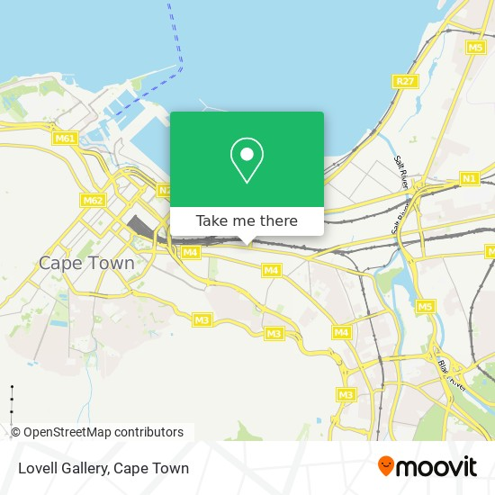 Lovell Gallery map