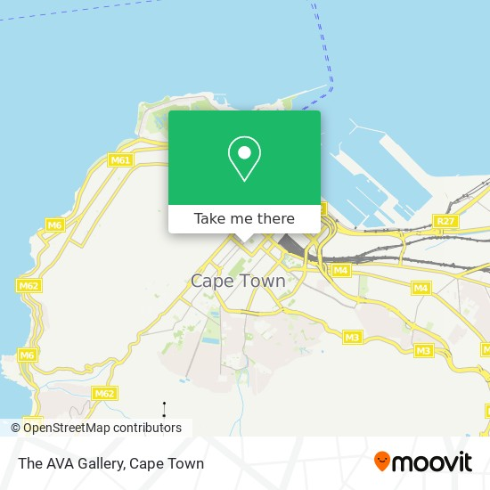 The AVA Gallery map