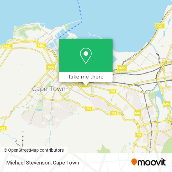 Michael Stevenson map
